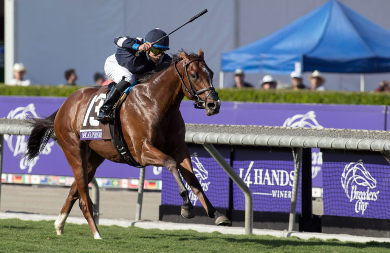 Breeders Cup Juvenile Turf Oscar Performance 1