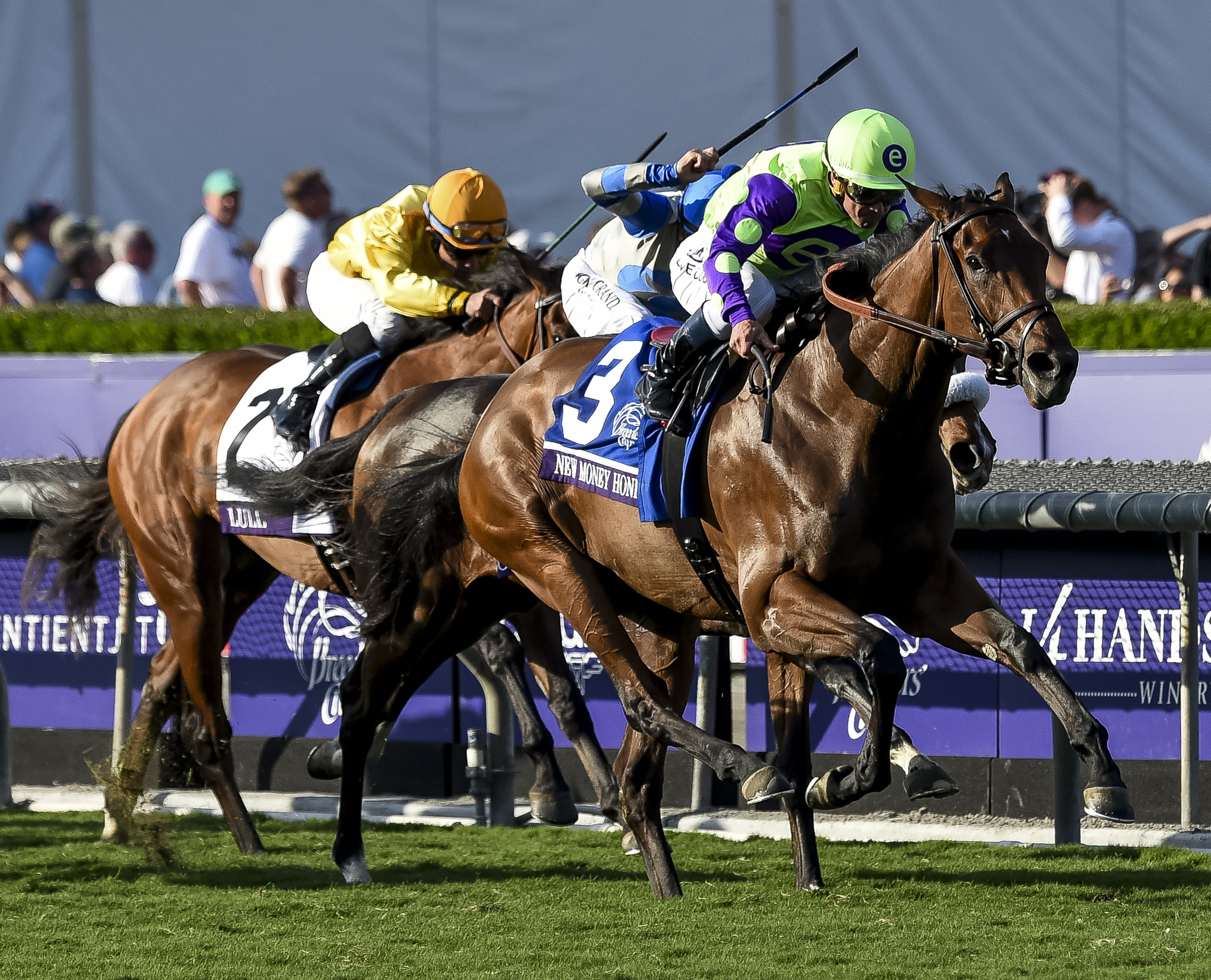 Breeders Cup Juvenile Fillies Turf New Money Honey 6