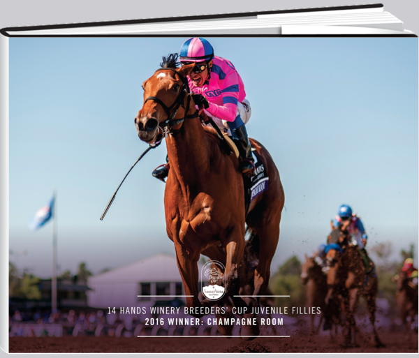 14 Hands Winery Breeders' Cup Juvenile Fillies Champion's Book